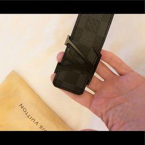 Louis Vuitton Initiales Belt Damier Graphite 90/36